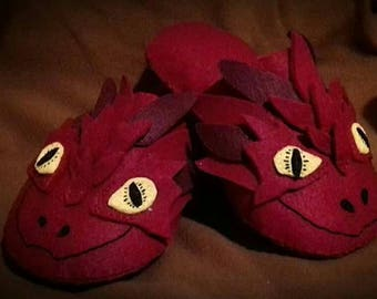 Smaug slippers
