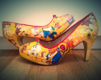 Beauty and the beast court shoes