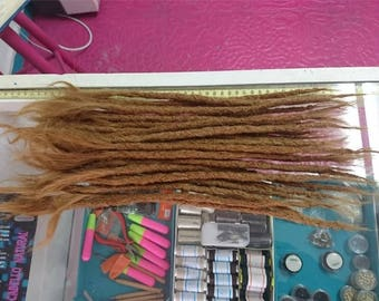 1 Medium Human Hair Dreadlock Extension ( 15-17 inches)