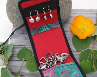 Mini Travel Jewelry Organizer