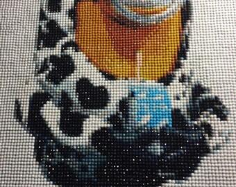 Table Creation Minion embroidered diamond 5 d Painting shiny rhinestones