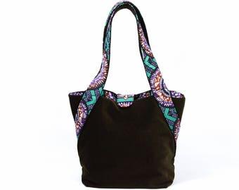 African Print Diaper Bag, Canvas Tote, Baby bag, Canvas Shopper