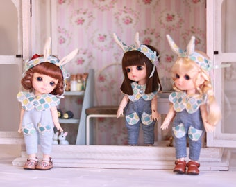 IN STOCK 【Butterfly】Romper for Lati yellow / pukifee 1/8