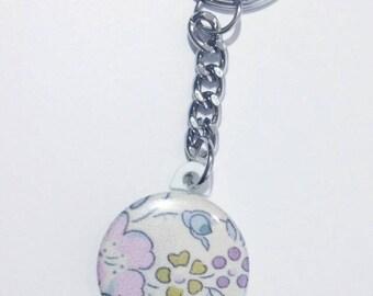 Felicity Liberty sweet blue 25mm key ring