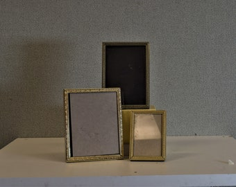 4x5 3x5 2x3 Photo Frames Vintage Gold Metal