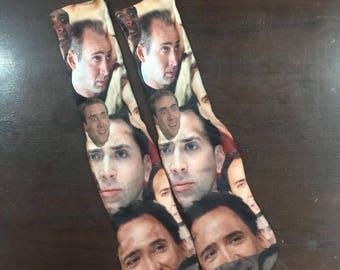 Nicolas Cage Socks