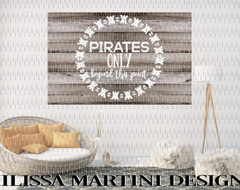 Pirates, Groomsmen, Boys Room, Sign, Wood Sign, Wedding, Chic, Boho, Gift For Him, SVG, DXF Silhouette Cricut Cut File