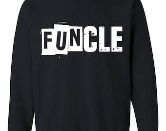 Family Sweatshirt Funcle  Unisex Crewneck Sweatshirt