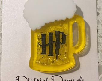 Harry Potter Butterbeer Brooch Pin