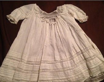 On Sale Childs Antique Gown