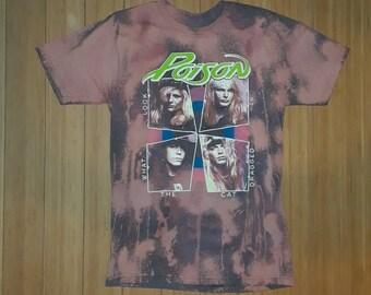 Poison Vintage Bleached T-shirt