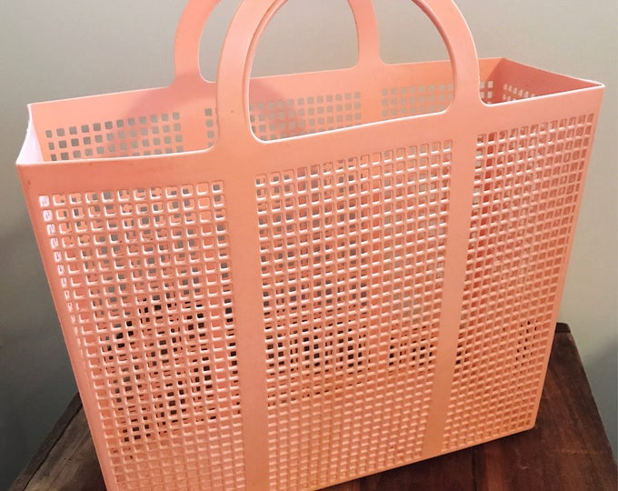 Vintage Pink Shopper Tote Bag