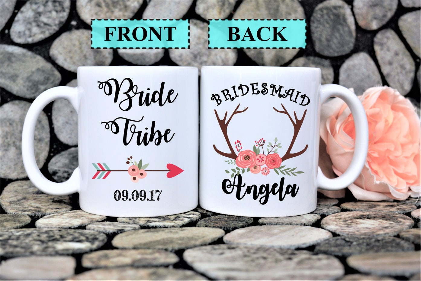 Bridesmaid Mugbridal Gift Ideawedding Planning Muggift For Maid