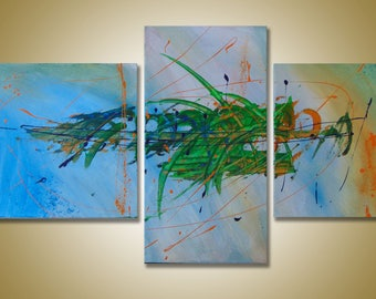 "SC-Art - abstract & modern / Acrylic Painting / 39"" x 24"""