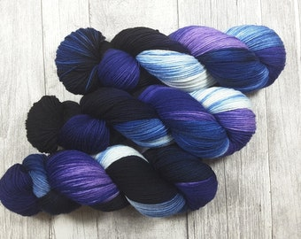 Electricity - FiMeSo Luxus-Socke - 420m/100g - hand dyed