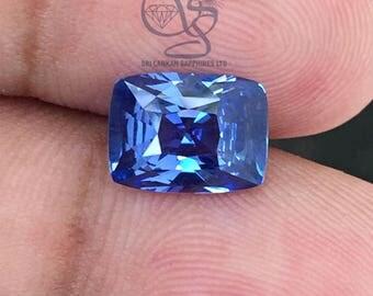 3.63 Ct Natural Blue Sapphire