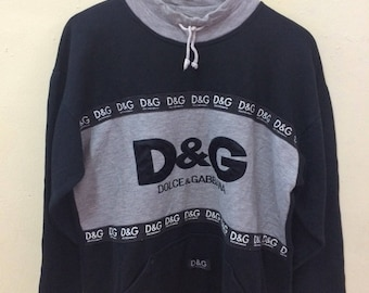 D&G Dolce And Gabbana Sweatshirts Big Logo
