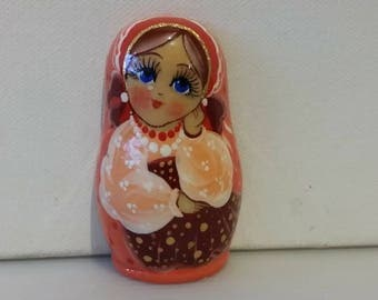 Matryoshka Russian doll, nesting doll magnet