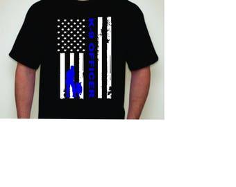 Police K-9 shirt-K-9 shirt-Police shirt- Cop shirt- K-9 officer