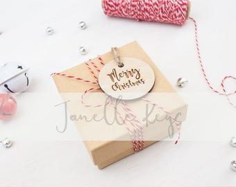 Styled Stock Photography / Christmas Stock Photo / Christmas Packaging / Digital Background / Blog Image / Social Media Image
