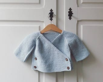 Baby jacket wave by BOHEMIAN LAVANDA