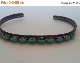 35% Off Turquoise Native American Bracelet