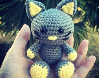 Crochet Amigurumi cat toy