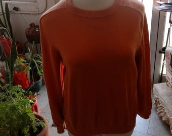 United Colors of Benetton orange sweater