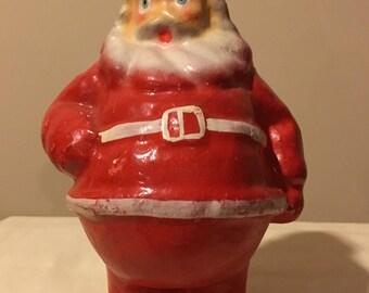 Santa Claus - Original 1940s Vintage Composition Mache Figurine