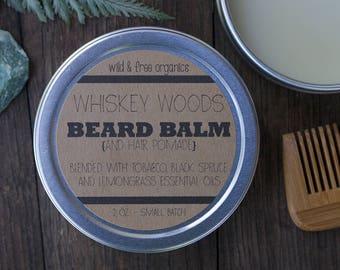 All Natural Beard Balm and Hair Pomade