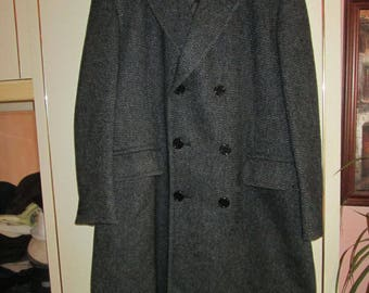 Aquascutum herringbone coat