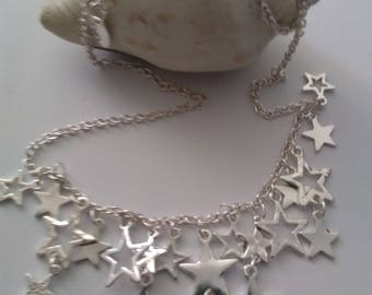 Silver Star necklace Follies