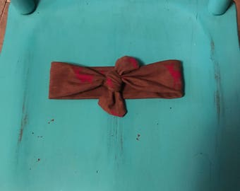 Ready to Ship | Deer | Knotted Headband | 0-3 months | SALE