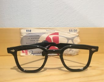 Vintage Imperial Optical 650 Glasses NOS 44-26 Tart Optical Tart Arnel Johnny Depp