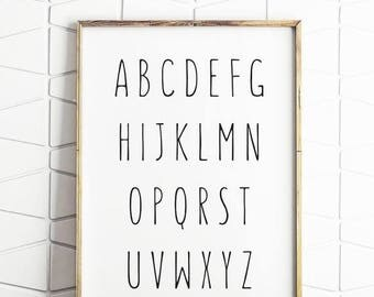 70% OFF SALE abc kids room decor, abc kids decor, abc room decor, abc decoration, alphabet room decor, alphabet kids decor, abc printable