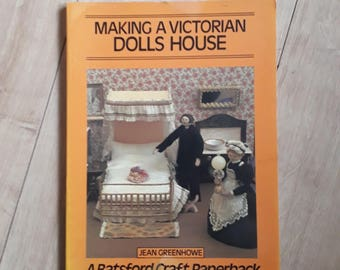 Making A Victorian Dolls House by Jean Greenhowe, Dolls House Crafting Book, How To Make Your Own Dolls House