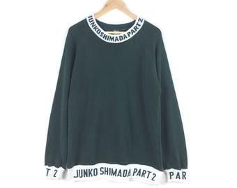 Vintage Junko Shimada Sweatshirt / Junko Shimada Part 2 / Made In Japan / Japanese Designer