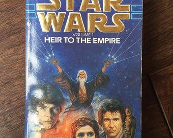 1991 Star Wars Heir To the Empire by Timothy Zahn (Paperback)