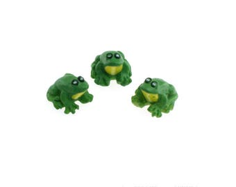 Miniatures Sitting Frogs