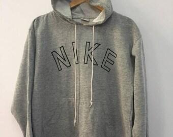 SALE 25% Vintage Nike Hoodie 90s Hip Hop Rap