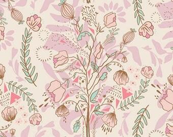 Pretty Twiggy - Lambkin by Bonnie Christine - 1/2 yard cotton fabric