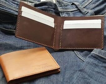 Simple Slim Bi-fold Wallet
