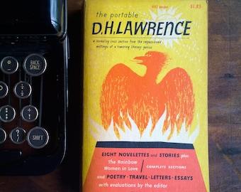The Viking Portable D.H. Lawrence - 1963 Viking Portable Library Paperback