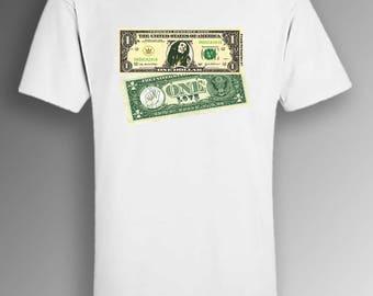 Bob Marley 'One Love' Dollar - original t-shirt