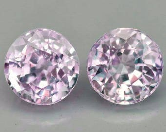 Fiery 1.00ct. 2 Pink Natural VS Ceylonese Loose Sapphires U.S. Seller