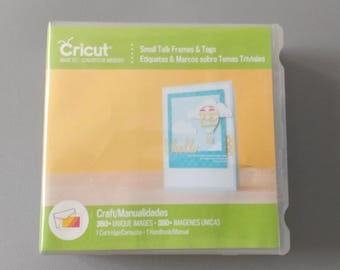 Small Talk Frames & Tags Cricut Cartridge