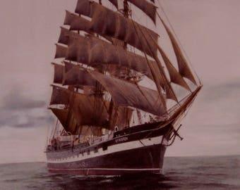 Tall Ship Print- 'The Kruzenshtern'
