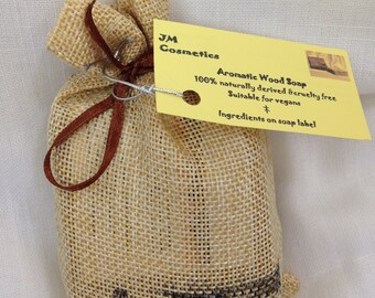 Aromatic Wood soap gift