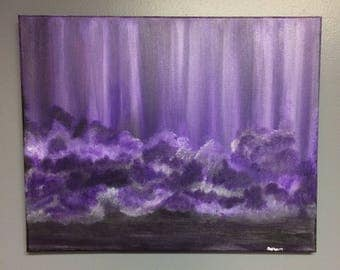 Original Acrylic Painting, Hand Painted Canvas, Wall art, Home decor