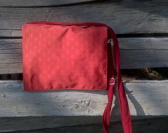 Wallet red provence, upholstery fabric